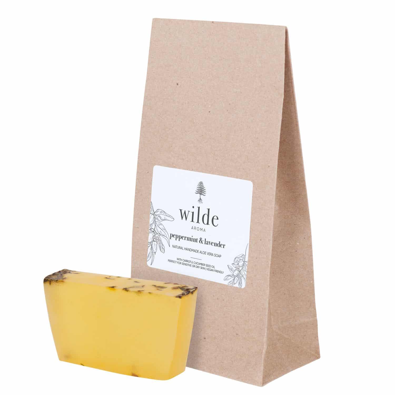 Aloe Vera Vegan Soap – Peppermint & Lavender