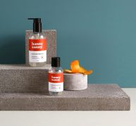 Orange Hand Sanitiser Gel