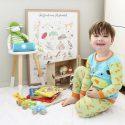 Australian Alphabet Wall Poster Print Nursery Decor/ Baby/ Study/ Class Room – Personalised Prints [A3]