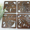 Leaf Coasters – X4
