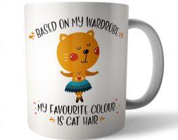 Cat Hair Ceramic Mug