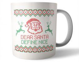 Define Nice Christmas Mug