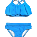 Blue Moon Frilled Two Piece