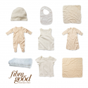 Fibre for Good Organic Baby Summer Essentials Set