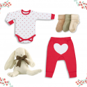 On Chic Organic Baby Gift Set – 0-3 Months – Unisex