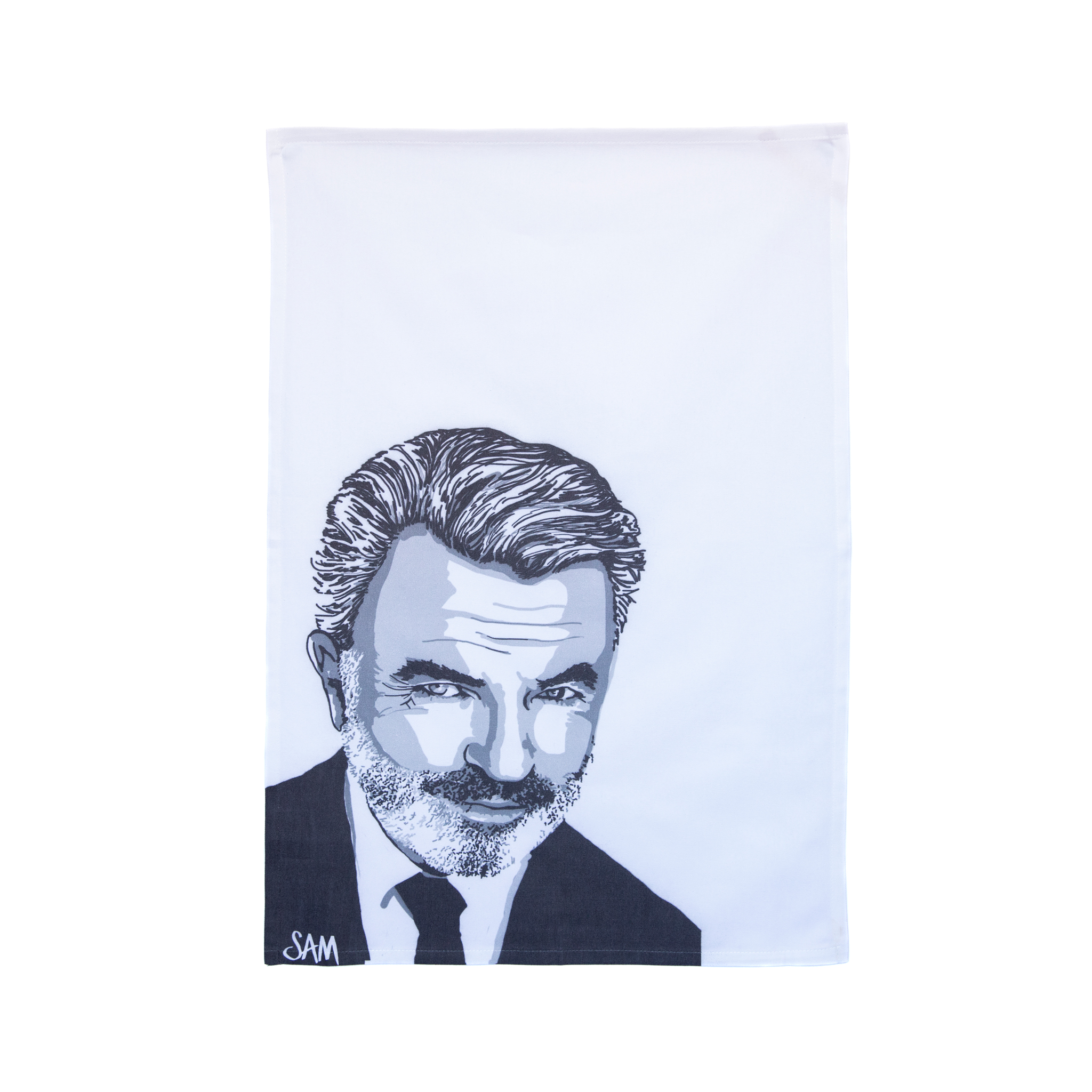 Sam Neill 100% organic cotton Tea Towel