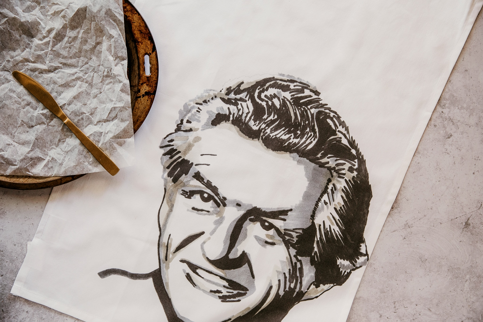 Bob Hawke Tea Towel