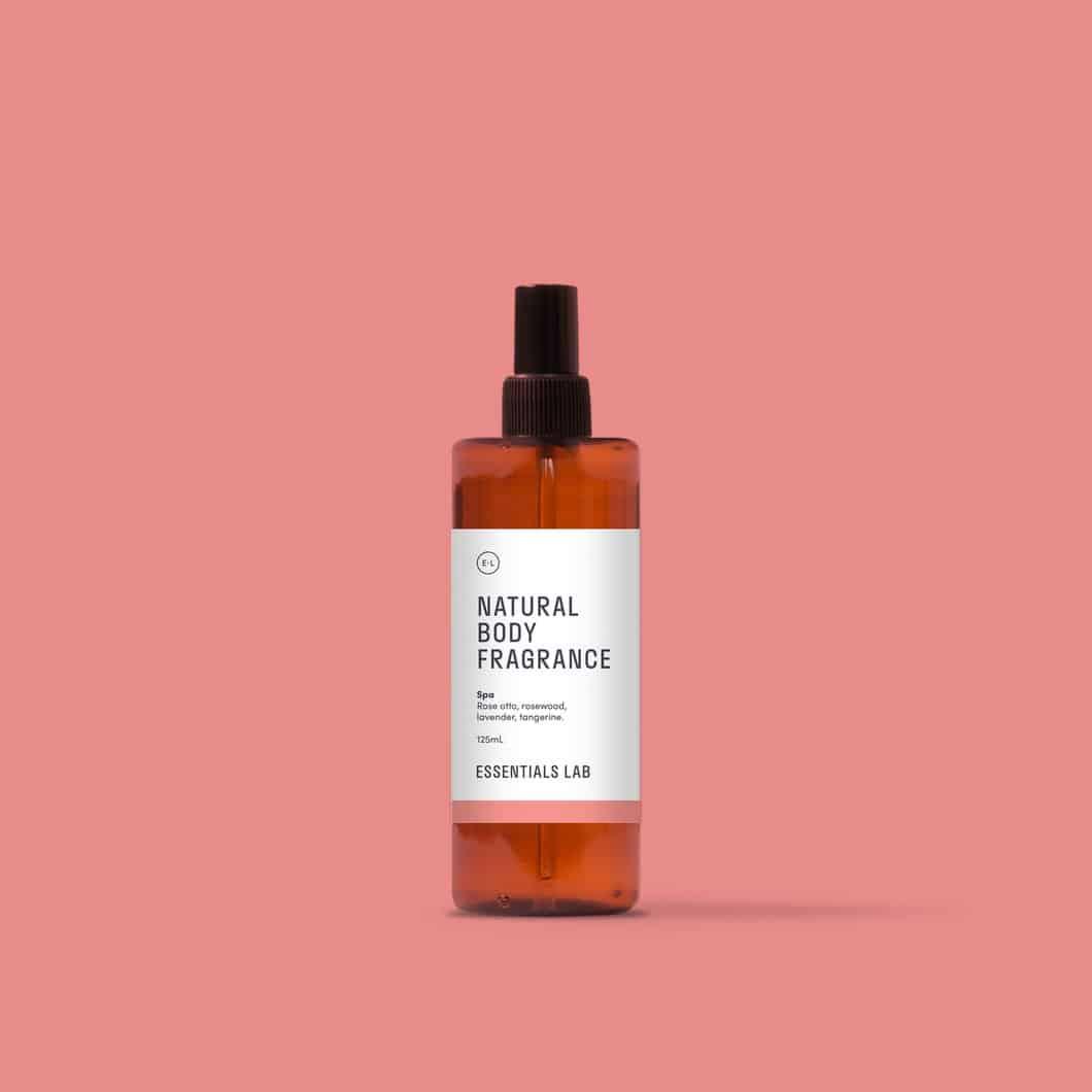 Spa · Natural Body Fragrance
