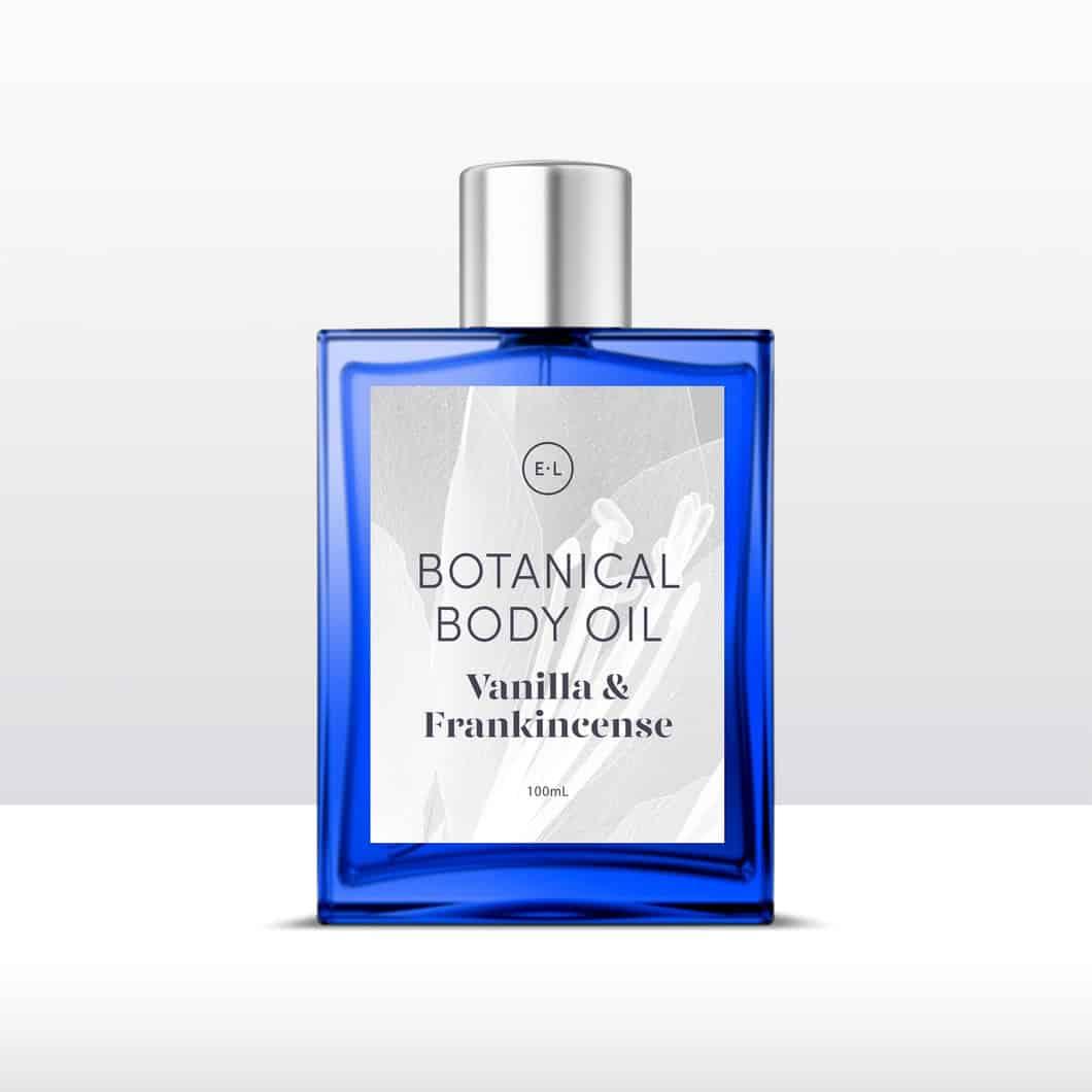Botanical body oil – Vanilla + frankincense 100ml