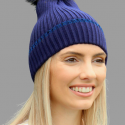 Blue Winter Beanie